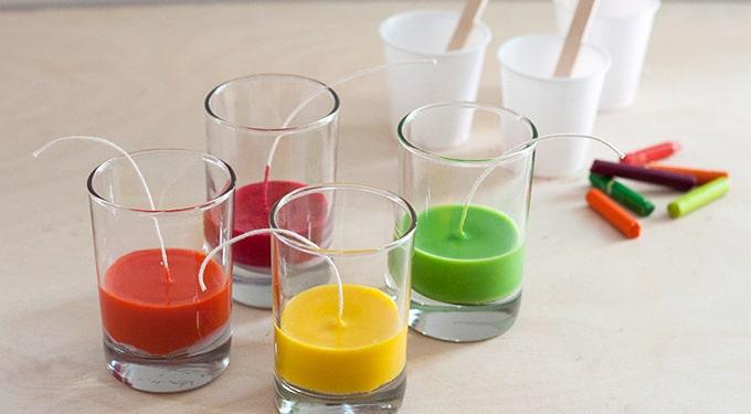 Hoe kun je zelf kaarsen maken?