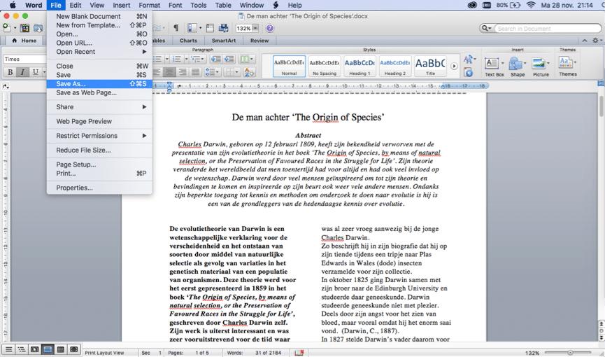 Hoe zelf een PDF bestand maken?