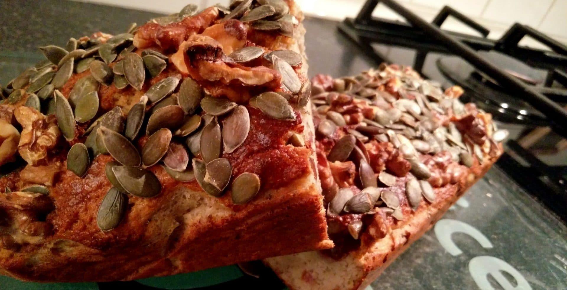 Zelf het lekkerste gezonde bananenbrood maken